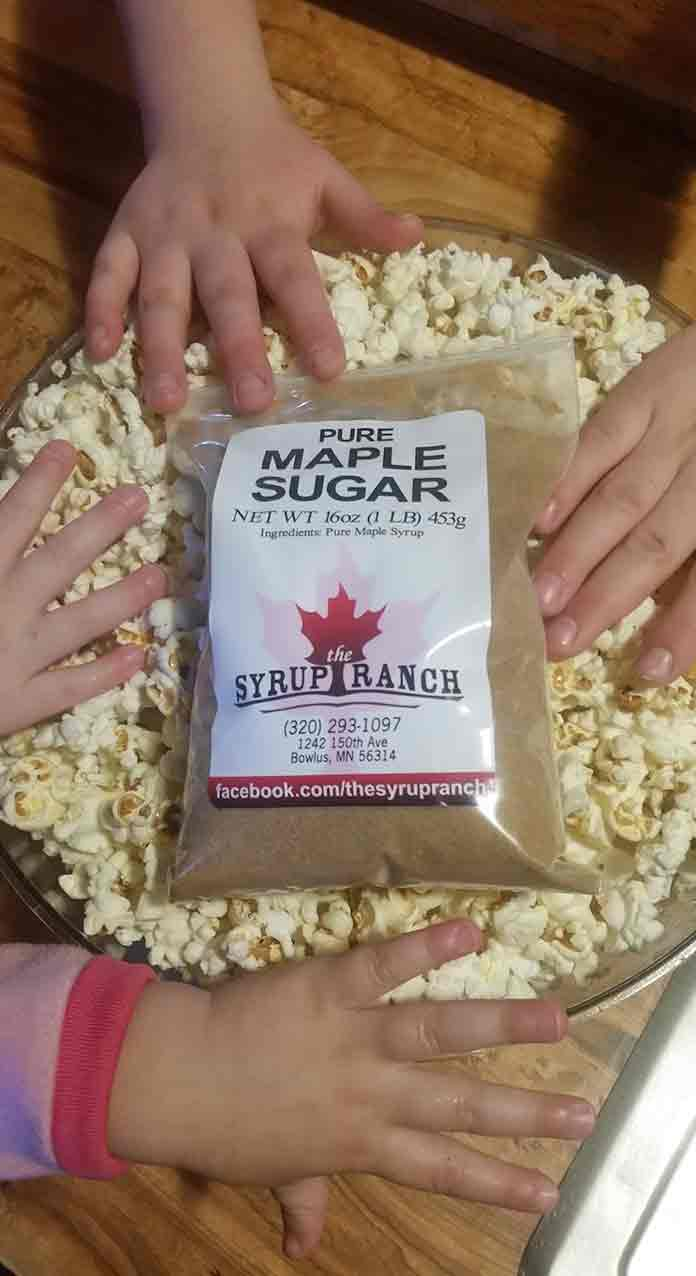 Pick up our maple sugar today